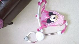 Minnie Mouse Brand New Baby Bouncer