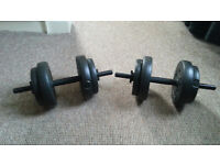 2x Dumbbell Fitness weights