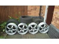 Mercedes SLK/SLC Alloy wheels/tyres