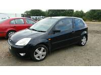 2003 Ford Fiesta 1.4 3dr in Black. 92,000 miles. Part Exchange to Clear . fiesta corsa c1 punto