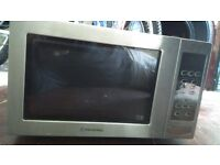 cookworks 850w stainless steel microwave