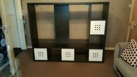Dark wood LAPPLAND TV UNIT for sale
