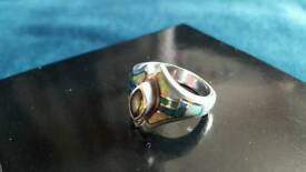 Native American Silver & Jemstone Ring