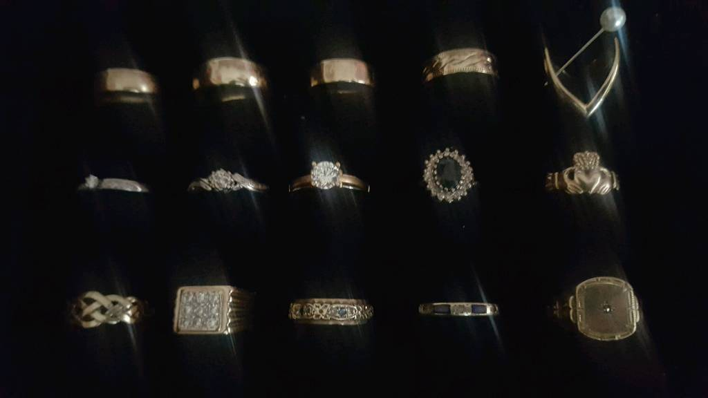 Gold rings different prices