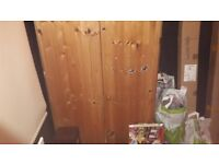 Children's Pine Wardrobe
