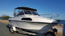 Fibreglass Half Cabin  with 2008 150hp Evinrude Etec Bracken Ridge Brisbane North East Preview