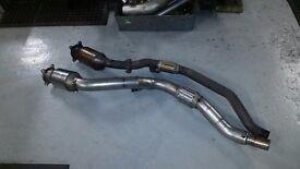 Audi A4 B7 2.0 TFSI BUL Engine Cat Converter And Flex Downpipe