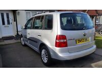 Volkswagen Touran Car 1.9 diesel TDI 7 Seater Long MOT GREAT DRIVE
