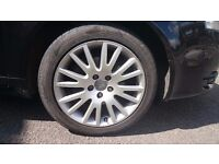 "Audi 17"" Alloy wheel with good tyre."