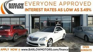 2012 Mercedes-Benz E-Class E350 4MATIC*EVERYONE APPROVED*APPLY N