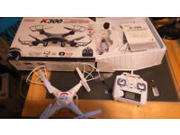 K300c quadcopter , drone boxed