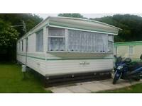 Static caravan 35x12 collect only Porthkerry