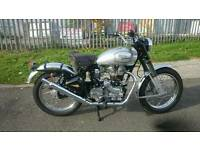 Royal Enfield bullet 500 Trail - Rare - Only 160KM From New!