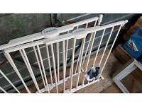 Pair of Lindam stair gates