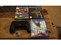 PS4 (500gb) with 3 games. Excellent condition.