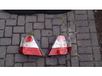 Honda civic type r 2003 - 2006 rear tail light back lights passenger and drivers 3 door model only