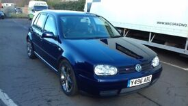 VW GOLF MK4 V5 170 BHP R32 LEATHER SEATS FULL HISTORY MAY TAKE PARTX