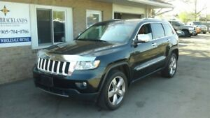 2012 Jeep Grand Cherokee Overland LOADED LEATHER 4X4