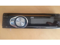 JVC car radio & CD palyer with MP3 input, traffic annoncement and removable faceplate