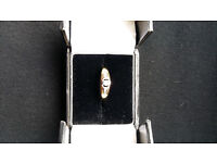 9 carat Yellow and White Gold Ring