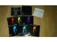 8 x eric clapton - box sets / 7 inch singles / promo cd /