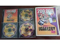 Corel Gallery Magic 200,000 Book and 8 CDs