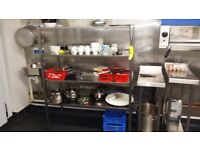 Stainless Steel Catering Storage Rack