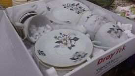 vintage tea set 18 pieces