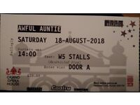 6 Awful Auntie tickets -Grand Opera House