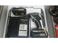 PANASONIC BRUSHLESS IMPACT DRIVER DRILL 14.4V EY7546 + 2 BATTERIES + 1 CHARGER