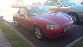MX5 Red Great reliable fun car 1.6 16 v