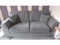 2 piece suite. Sofa and armchair.