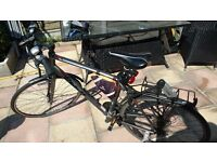 "Fuji Absolute 2.3 mens 21"" Hybrid Bike + loads of extras"