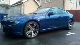 Epic V8 BMW 645ci with M6 style 20 alloys, pano roof, 2 keys, loads of docs,