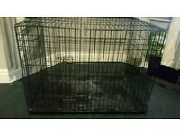 Xtra large dog crate cage