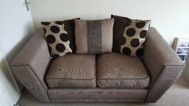 2x Two seater DFS sofas