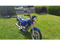 wuyang 125 motorbike motorcycle honda cga