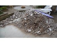 Rubble / Landfill / Patio / Glass double glazing units ......free to take away ( Morecambe)