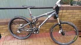 specialized full suspension 27 speed mountain bike