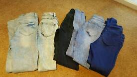 New look jeans size 10