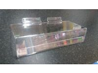 SHOE SHELF WITH TICKET HOLDER 225mm x100mm QTY: 84
