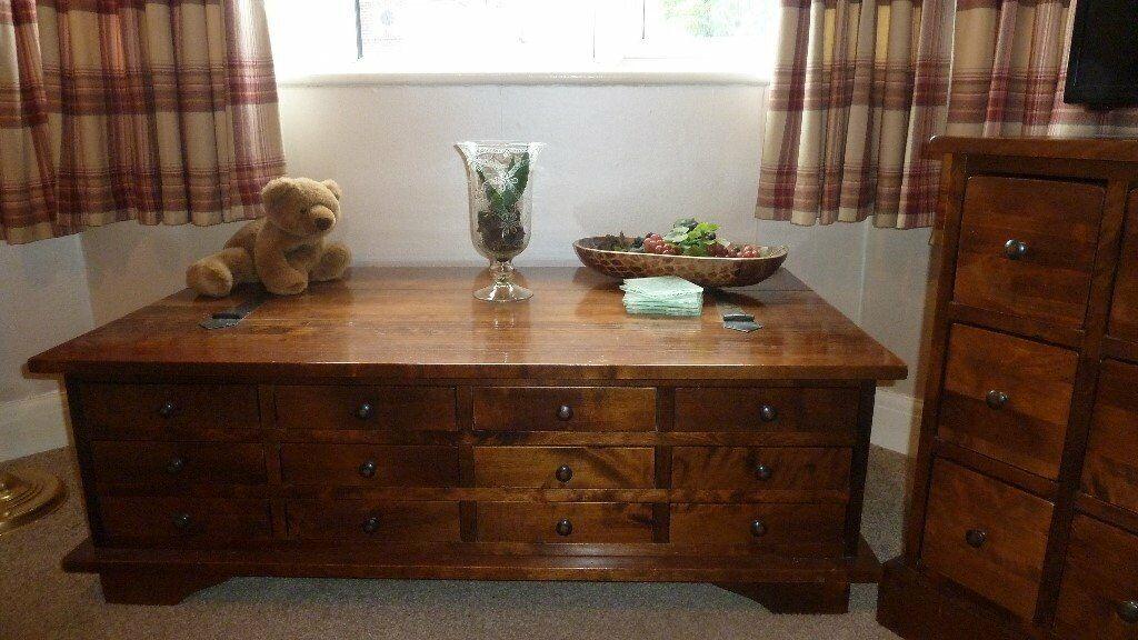 Laura Ashley Garrat 9 Drawer Coffee Table In Warrington Cheshire Gumtree