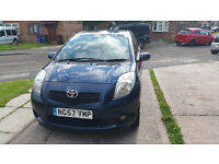 2007 TOYOTA YARIS T3,5 DOORS WITH LONG MOT