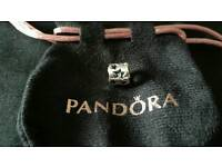 NEW GENUINE PANDORA Sterling Silver Cut Out Stars Charm