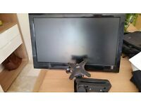 SHARP LCD Freeview TV with wall mount