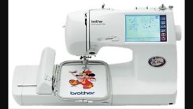 Embroidery Sewing Machine Brother Super Galaxie 2000 Computerised