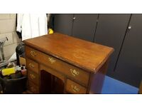 Victorian Writing Desk for Sale 1850s and a large rug