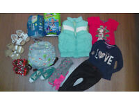 BUNDLE GIRL 2 YRS /BACKPACK SHOES ETC./ all for 5 POUND