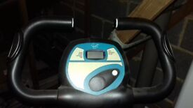 Never been used exercise bike in mint condition