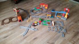 Thomas The Tank Engine Bundle Take N Play Sets Plus Trains £25